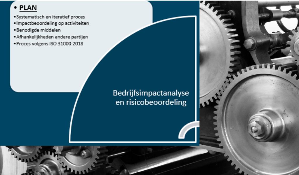 PDCA - Plan: bedrijfsimpactanalyse en risicobeoordeling