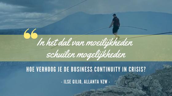 Hoe verhoog je de business continuity in crisis?