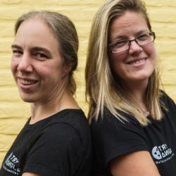 Hoe online samenwerken met coach Kim en Griet Tryangle | Allanta vzw